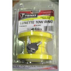TRIMAX SECURITY LOCK LUNETTE TOW RING, FITS