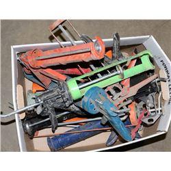 BOX OF CAULKING GUNS