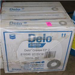 CASE OF DELO GREASE EP2
