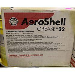 BOX OF 10 AEROSHELL GREASE 22
