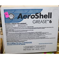 BOX OF 10 AEROSHELL GREASE 6
