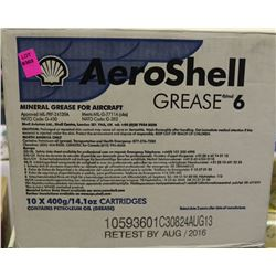 BOX OF 10 AEROSHELL GREASE 6