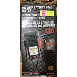 NEW ATD 100 AMP BATTERY LOAD TESTER