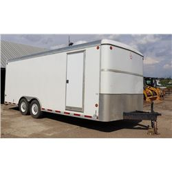 16 FT ENCLOSED PROVER WELL TESTING TRAILER, SOLAR