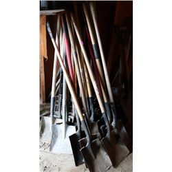LARGE LOT OF FLATHEAD SHOVELS