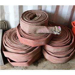 LOT OF 6 LARGE WATER HOSES