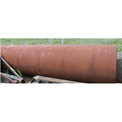 LARGE PIECE OF METAL PIPE