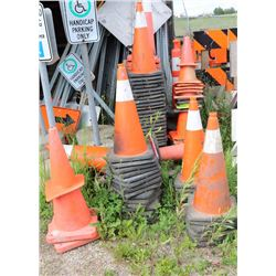 LARGE LOT OF PYLON CONES