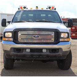 UNRESERVED! 2004 FORD F350 SRW SUPER DUTY WELDING TRUCK