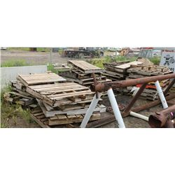 LARGE LOT OF PALLETS