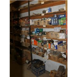 SHELF CONTENTS, INCLUDES VARIOUS PARTS, LIGHTING