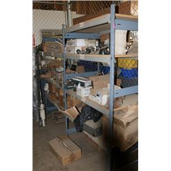 SHELF WITH CONTENTS,INCLUDES BRAKE PARTS, BRAKE