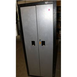 PROCORE  METAL LOCKING CABINET WITH CONTENTS