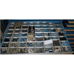 DRAWER WITH ASSORTED, NUTS, BOLTS,ORINGS & MORE