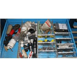 DRAWER WITH ASSORTED FITTINGS & NOZZLES