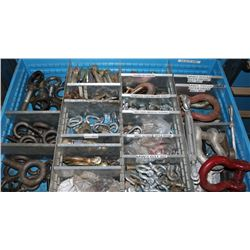 DRAWER WITH I-BOLTS, CLEVICES, TURNBUCKLES & MORE
