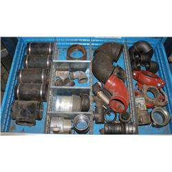 DRAWER WITH VARIOUS PIPE FITTINGS & MORE