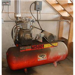 DEVILBISS 20 GALLON AIR COMPRESSOR, 175 - 300 PSI