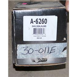 DIXIE ELECTRIC ALTERNATOR 24 VOLT, #A-6260
