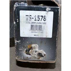 DIXIE ELECTRIC STARTER MOTOR 12 VOLT, #TS-1578
