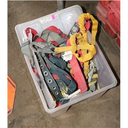 TOTE OF BODY HARNESSES & TRAVEL RESTRAINTS