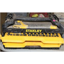 STANLEY 3 DRAWER TOOLBOX WITH CONTENTS