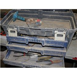 MASTERCRAFT MAXIMUM TOOLCHEST WITH CONTENTS OF TOOLS