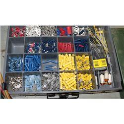 METAL BOX OF HVAC ELECTRICAL REPAIR KIT