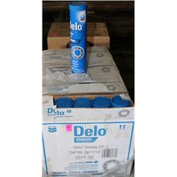 4 BOXES OF DELCO GREASE TUBES
