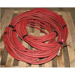 PALLET OF VARIOUS LENGTH AIR HOSES