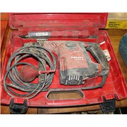 HILTI HAMMER DRILL WITH VARIOUS BITS
