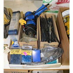 BOX OF ELECTRICAL SPLICING, HEAT SHRINK & HEAT