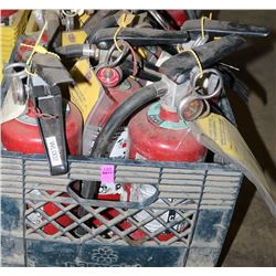 LOT OF 12 FIRE EXTINGUISHERS