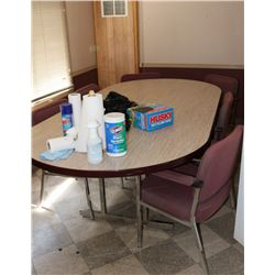 CONFERENCE ROOM: INCLUDES TABLE, 7 CHAIRS,
