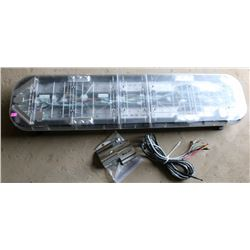 WHELEN ROOFTOP LED EMERGENCY LIGHT BAR, COMES