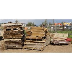 10 PALLETS OF ASSORTED LUMBER