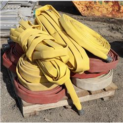 PALLET OF ASSORTED WATER HOSES