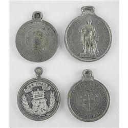Lot (4) 1870s Medals
