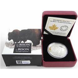 .9999 Fine Silver $20.00 Coin 'The Bison'
