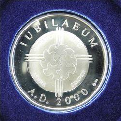 2000 Millennium Silver Artistic Medal