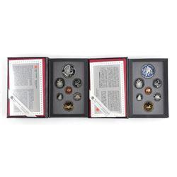 Lot (2) RCM Proof Sets: 1995 and 1993