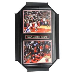 Kawhi Leonard - 'The Shot' 2 - 8x10 Photos - Frame