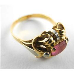 Estate 18kt Gold Ring