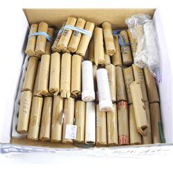 Lot - Approx (115) Rolls Pennies
