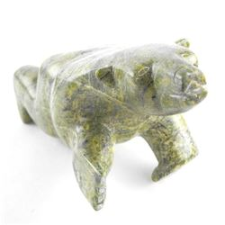 Estate - Original Stone Carving 'Standing Bear' 10