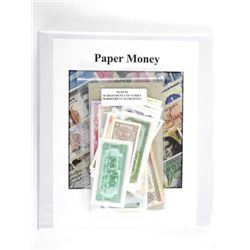 World Paper Money Collection - 50 Notes 50 Countri