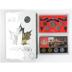 Grouping Coins - Wartime & 2019 D-Day Coin Folio 6