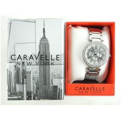 Ladies - Caravelle Watch 'NEW' with Swarovski Elem