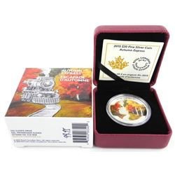 .9999 Fine Silver $20.00 Coin 'Autumn Express'
