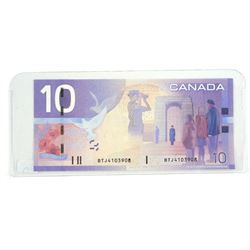 2005 Bank of Canada Ten Dollar Note Choice UNC